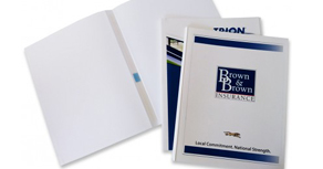COVERBIND Print-On-Demand Thermal Binding Covers