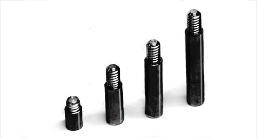 Black Aluminum Screw Post Extensions