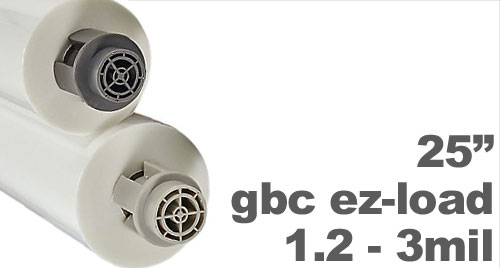 GBC EZ Load Film Rolls (for HeatSeal Pinnacle 27 EZ)