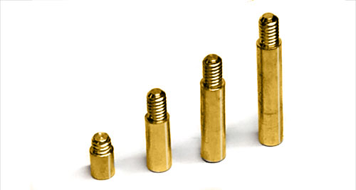 Gold Aluminum Screw Post Extensions