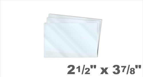 Key Card Laminating Pouches 2-1/2